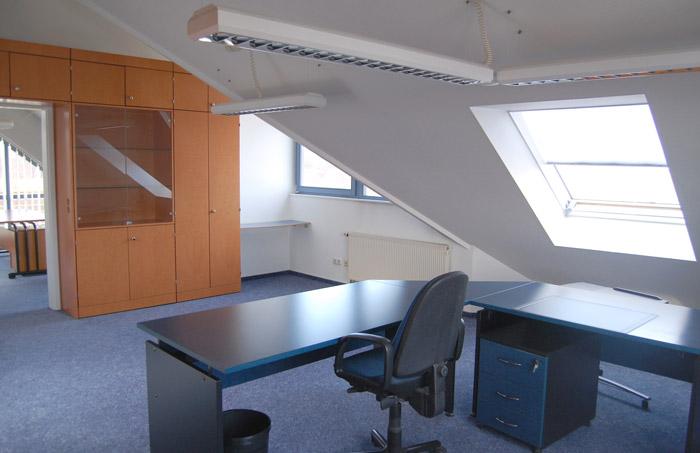 Büro 02 im Obergeschoss