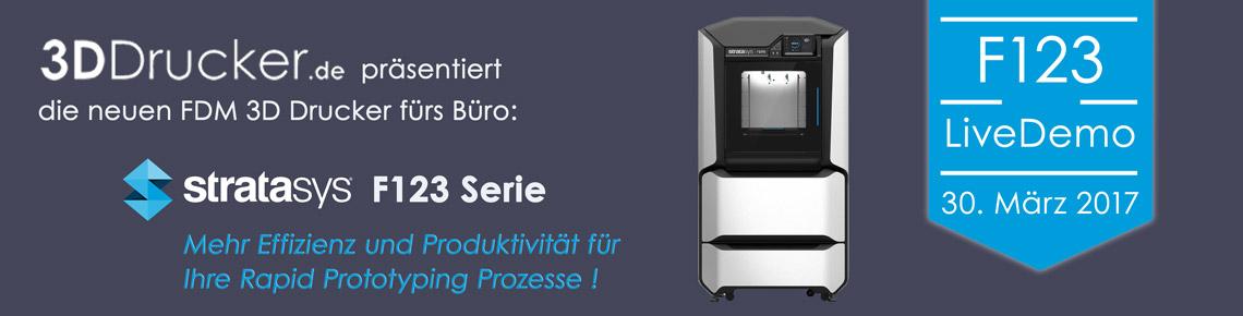 Live-Demo Stratasys F123 Serie